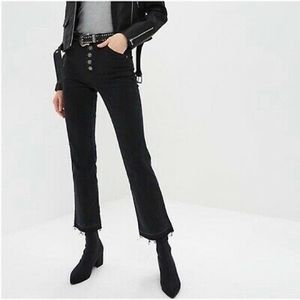 NWT Free People Classic Cropped Bootcut Jeans